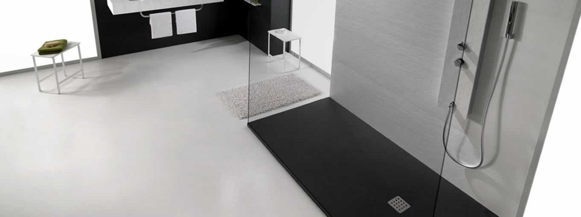 024; 024; BeckermanKitchensiena; Bathroom Interior With Slate  Shower Tray By Acquabella ...